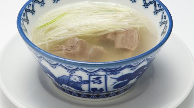 味の牛たん喜助 - 料理写真:テールスープ
