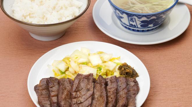 味の牛たん 喜助 - 料理写真:牛たんミックス定食