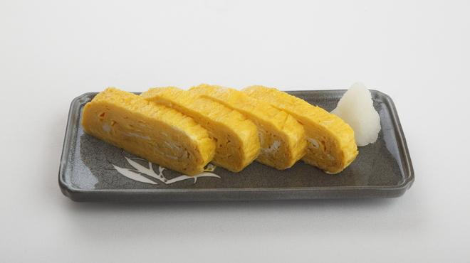 味の牛たん 喜助 - 料理写真:厚焼き玉子