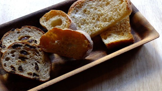 わかば堂 - 料理写真:自家製パンの盛り合せ
