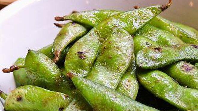 地球YA - 料理写真:枝豆 バター醤油焼き