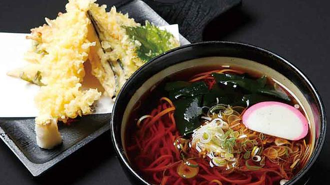 大久保西の茶屋  - 料理写真:天ぷらそば1680円