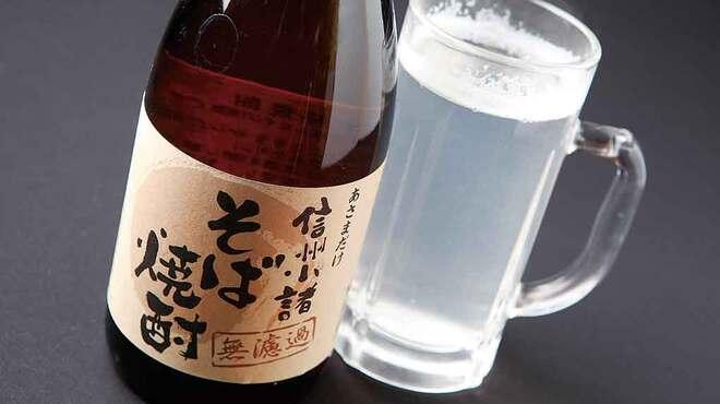 大久保西の茶屋  - 料理写真:そば焼酎(蕎麦)