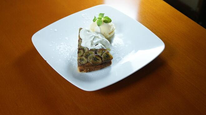 ステイゴールド - 料理写真:バナナケーキ