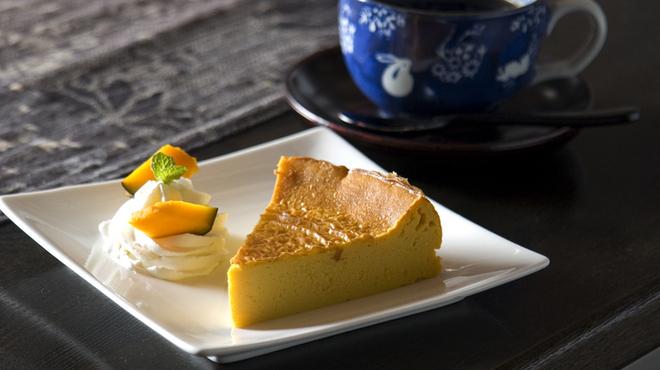 燻香廊 - 料理写真:かぼちゃ燻製のチーズケーキ
