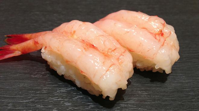金沢まいもん寿司 - 料理写真:北陸生甘えび プリプリです!!