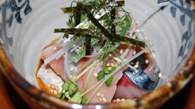 観音食堂 七兵衛 - 料理写真:極上さばの沖漬け