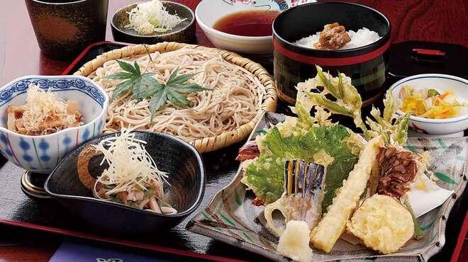日本料理と蕎麦 冴沙 - 料理写真:冴沙膳 1,700円