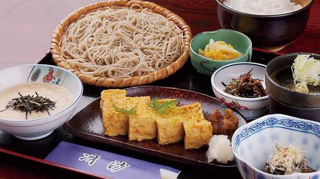 日本料理と蕎麦 冴沙 - 料理写真:佐久産の長芋とろろ膳 1,200円