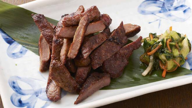 なかめのてっぺん - 料理写真:牛たん網焼き