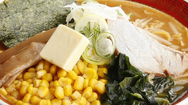 えぞっこ - 料理写真:[バターコーンラーメン]スイートコーンと北海道バターの相性抜群!人気の味です。950円