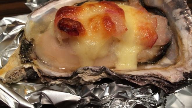 牡蠣Bar - 料理写真:焼き牡蠣
