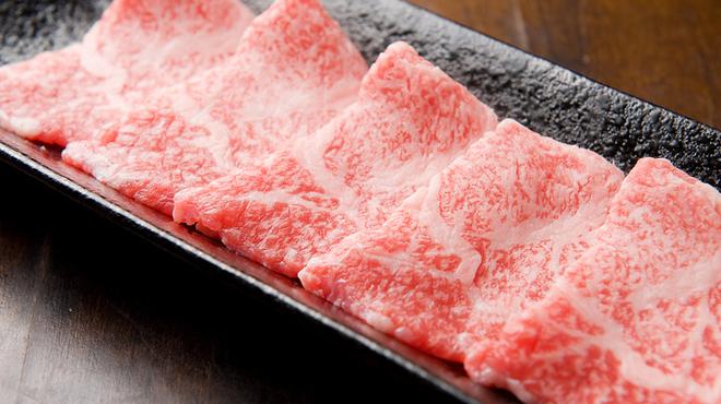 オカン焼肉 紅ちゃん - 料理写真:厳選された『極ロース』とろける味わい