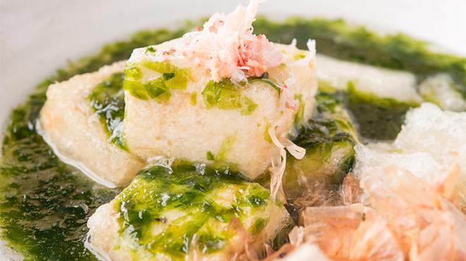 ふとっぱらや 手羽蔵 - 料理写真:揚げだし豆腐
