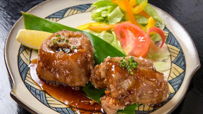 ダイニングキッチン幸福 - 料理写真:オススメ!てびちの唐揚げ