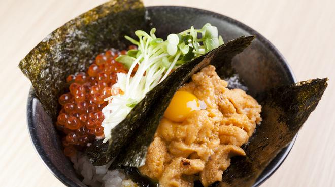 伊勢網元食堂 - 料理写真:雲丹いくら丼  (ランチのみ)