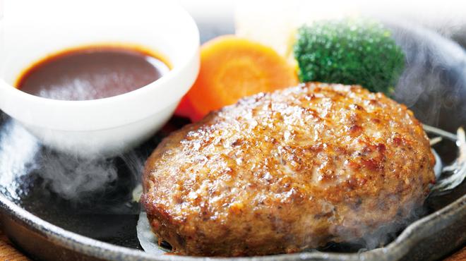 アンジュ - 料理写真:山形牛ハンバーグステーキ