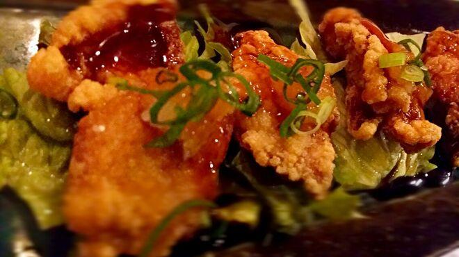 やきとり 秀 - 料理写真:鶏の唐揚おろしポン酢