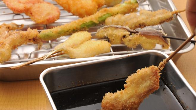 せいちゃん - 料理写真:こだわりのオリジナルソース