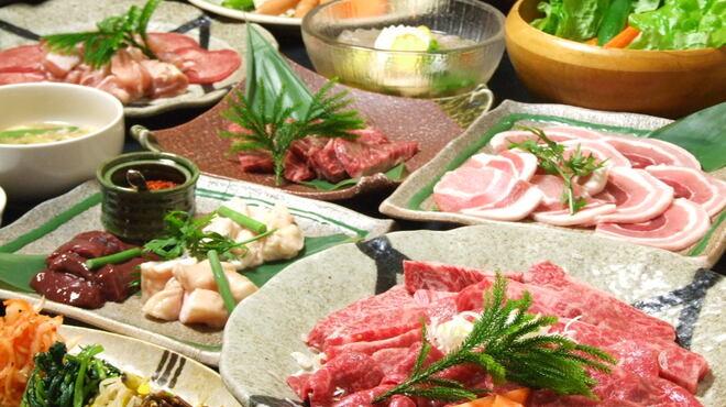 横濱焼肉 あぎゅう - 料理写真:コース一例