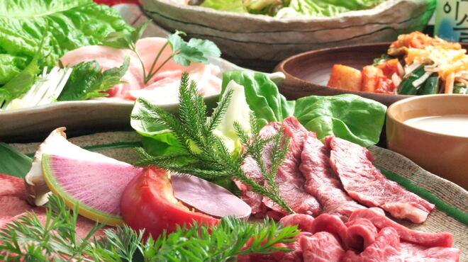 横濱焼肉 あぎゅう - 料理写真: 肉はA5、銘柄牛を使用しておりますので、御安心してお召し上がり下さい。