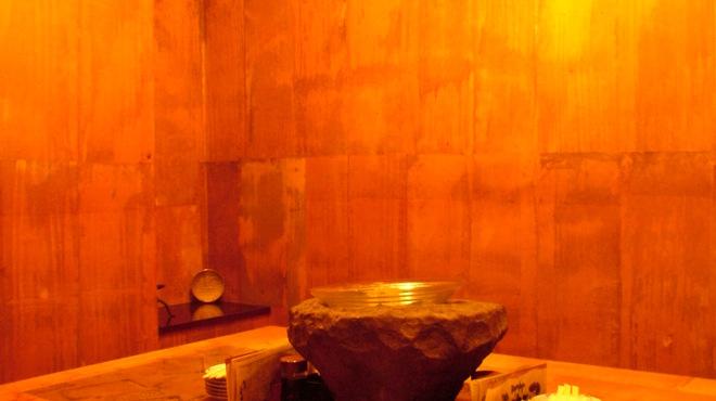 洋膳坊 楽の市 - 内観写真:最大12名様まで利用可。掘りごたつ式の個室。
