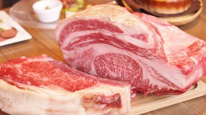 グリルド エイジング・ビーフ - 料理写真:圧巻の大判一枚熟成和牛肉!!