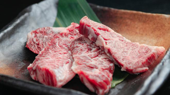 焼肉牛ヒレ - 料理写真:ハラミ