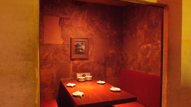 洋膳坊 楽の市 - 内観写真:2~4名様まで。カップル人気のBOX席。