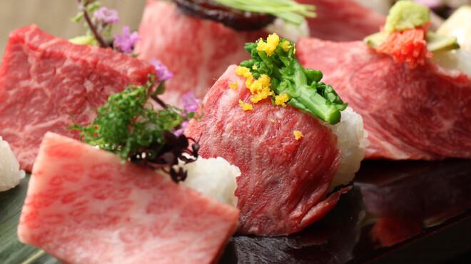 牛弁慶 - 料理写真:炙り寿司