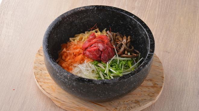 熟成和牛焼肉エイジング・ビーフ - 料理写真:石焼和牛ビビンバ