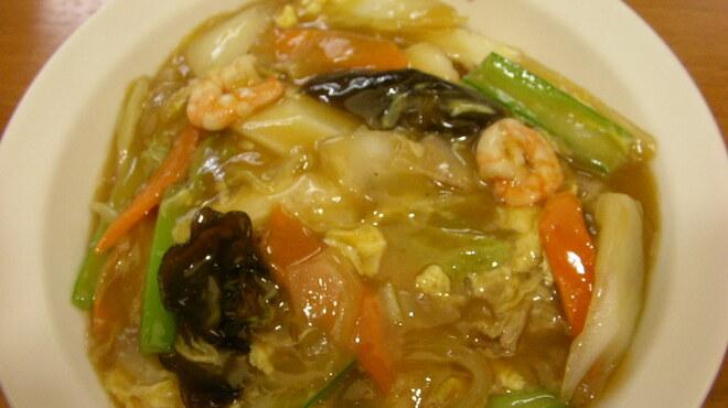 大阪王将 - 料理写真:中華丼(スープ付き)  定番商品人気です。