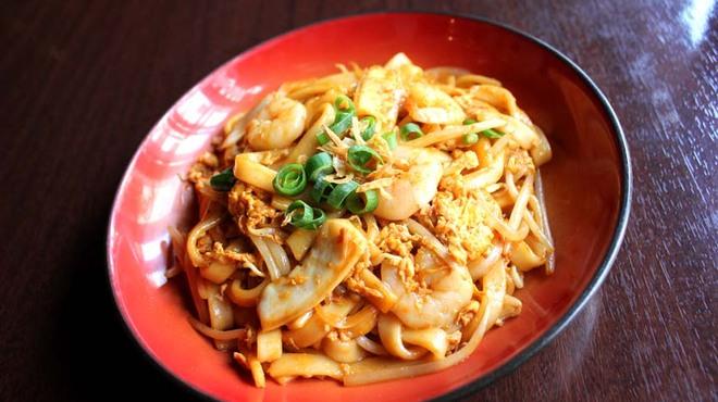 マレーシア ボレ - 料理写真:海鮮ピリ辛太麺