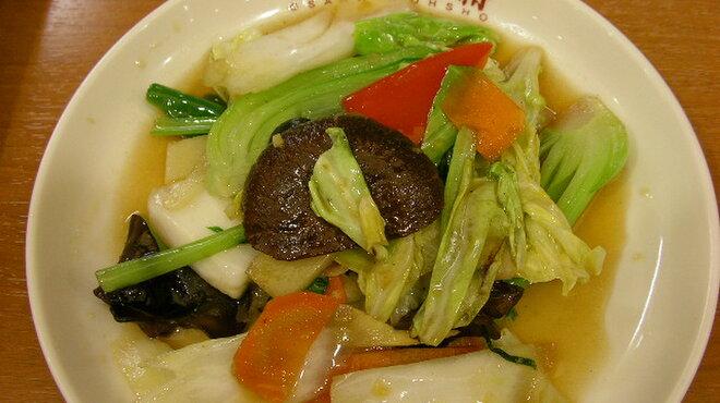 大阪王将 - 料理写真:10種類の野菜炒め 530円 あっさり塩味で。