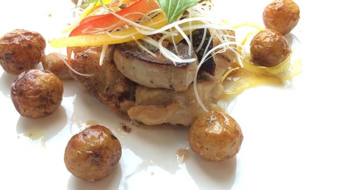 コテ カフェ - 料理写真:ホアグラとハーブ入りミートボール