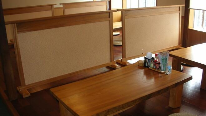 島そば一番地 - 内観写真:2階(座敷席)