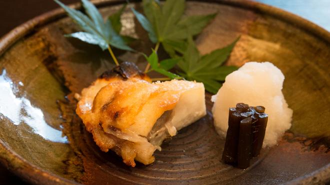 山海 - 料理写真:銀むつのかま焼き