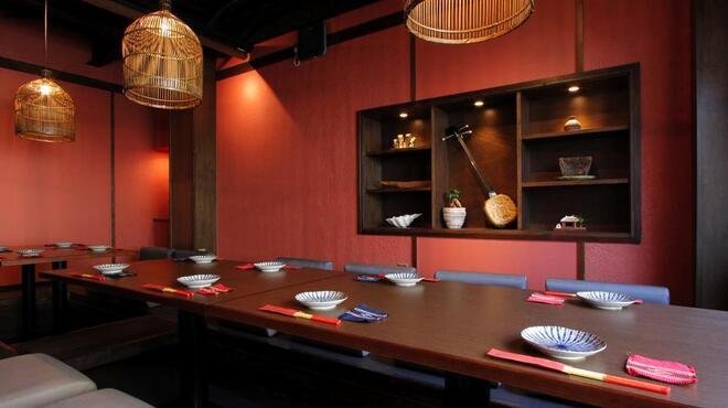 草花木果 - 内観写真:半個室あります。