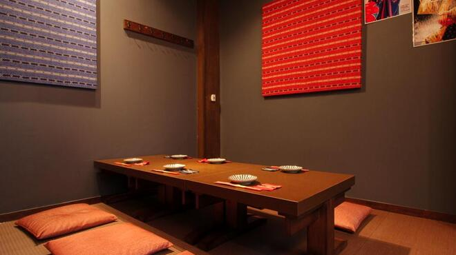 草花木果 - 内観写真:くつろぎの空間 3Fお座敷