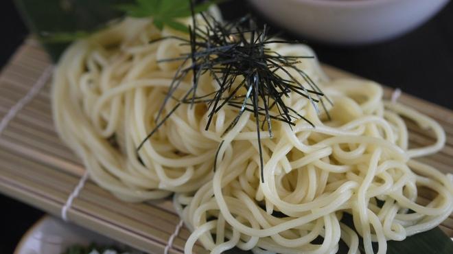 ぢどり長屋 - 料理写真:鶏だし味噌つけ麺
