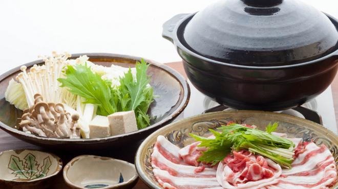 黒将 - 料理写真:◆常連さんに人気のしゃぶしゃぶ◆