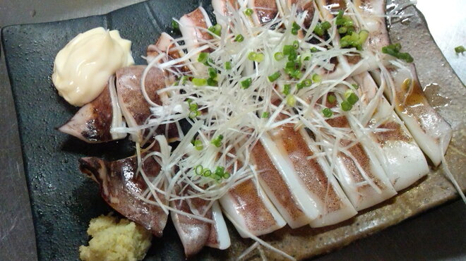 焼酎ダイニング なごみ - 料理写真:真イカの一夜干し