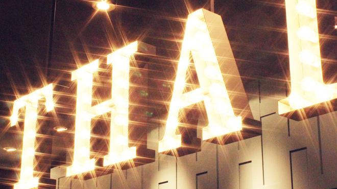 マンゴツリーカフェ - 内観写真:輝くサイン