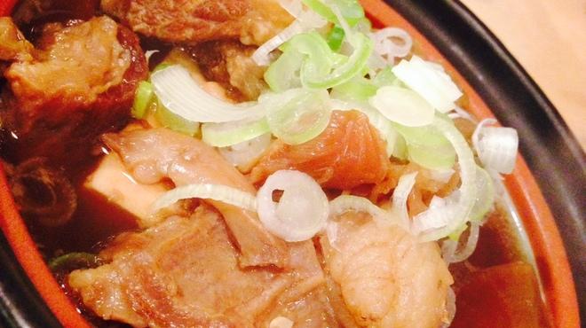 居酒屋 あゆみ - 料理写真:牛筋煮込み