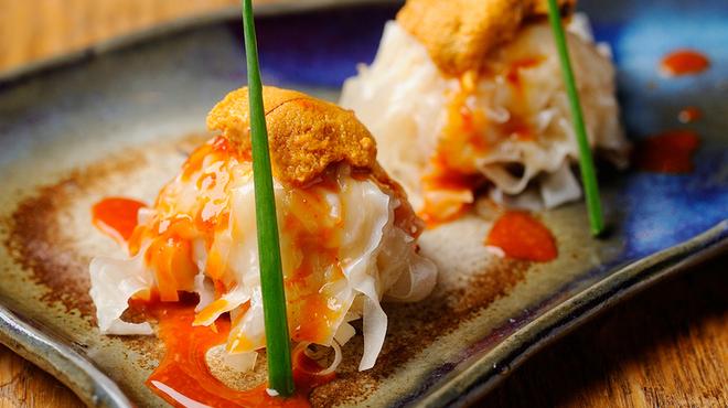 十番右京 - 料理写真:ウニしゅうまい