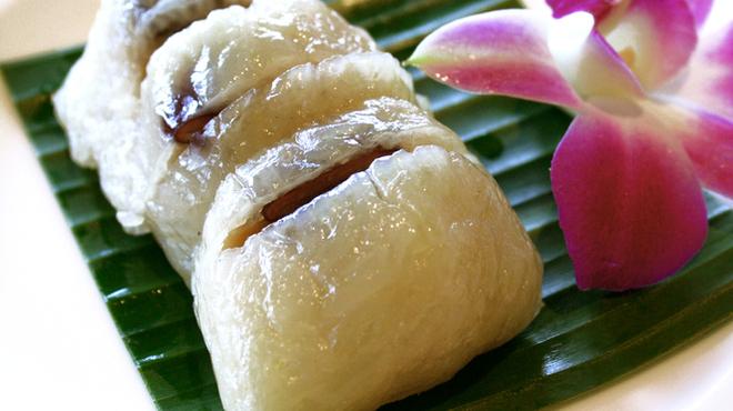 スクンビット ソイ55 - 料理写真:タイのバナナちまき