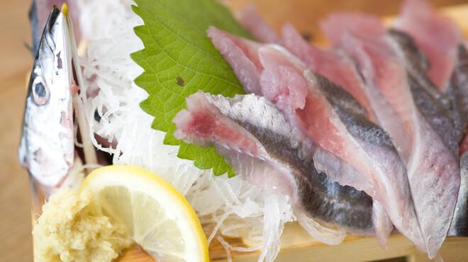 根室食堂 - 料理写真:杉山のサンマ刺し