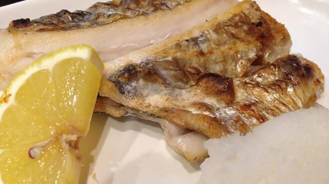 あさひ町スタンド - 料理写真:特上太刀魚の塩焼き