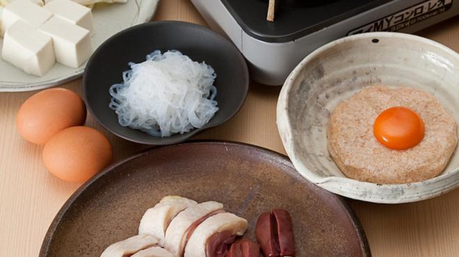 鳥ふじ - 料理写真:鳥のすき焼き
