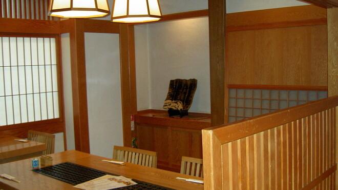 亀戸升本 - 内観写真:1Fテーブル席